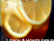 Naturally Sweet Lemon Hot Drink Syrup